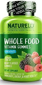 NATURELO Vitamin Gummies for Adults