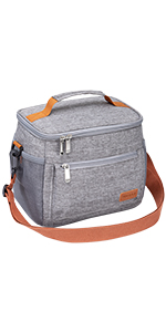 Insulated Lunch Bag Reusable Cooler Tote Bag