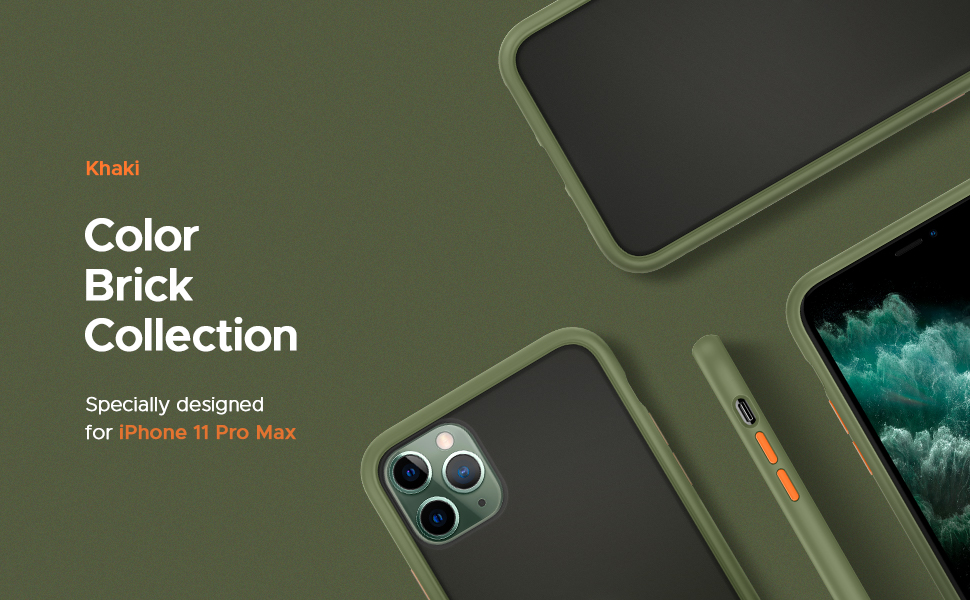 Color Brick Collection for iPhone 11 Pro Max