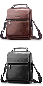 SPAHER Mens Shoulder Bag