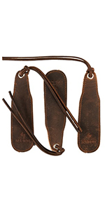 bookmarks leather