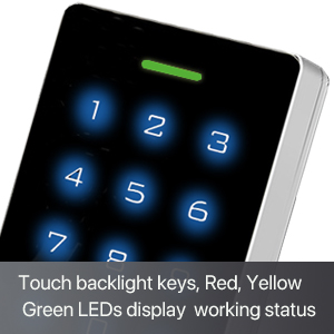 touch backlight keys