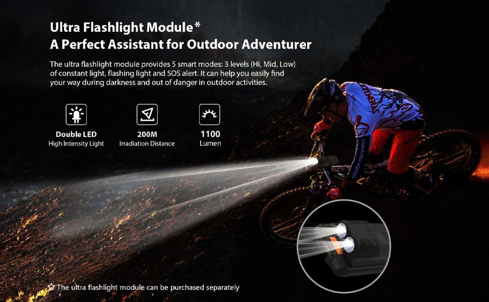 ultra flashlight module