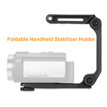 4K Video Camera With Foldable Handheld Stabilizer