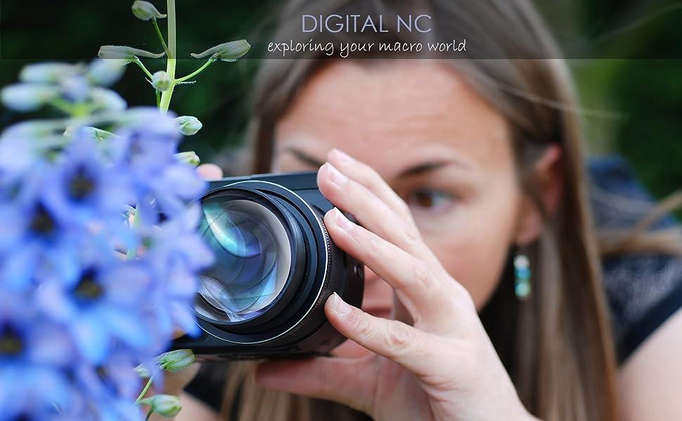 52mm Macro Nikon D5300 10x High Definition 2 Element Close-Up Lens
