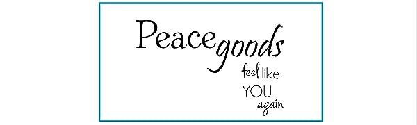 Peacegoods tools for relaxation eye pillows neck wraps