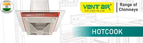 Ventair Kitchen Chimney Hotcook