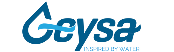 geysa logo inspired by water