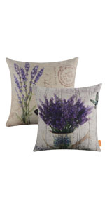 LINKWELL Pack of 2 Square Throw Pillow Cover