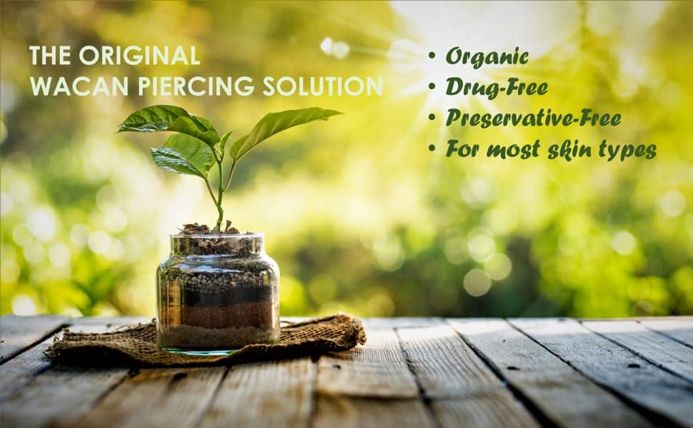PIERCING SALINE SOLUTION