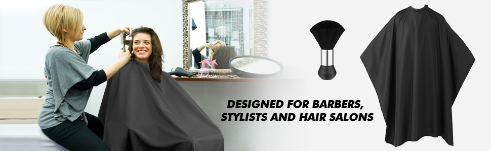 Professional Barber Cape Salon Cape for Hair Cutting