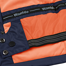 Wantdo Boy's Windproof Ski Fleece Jacket Hooded Waterproof Spring Rain Coat