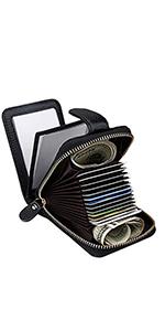Credit Card Holder Zipper Wallet