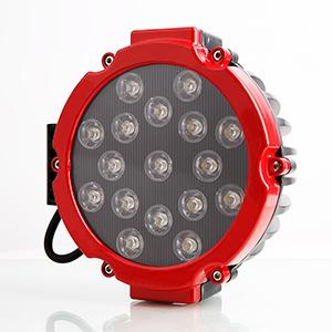 "7"" Round Red LED Light"