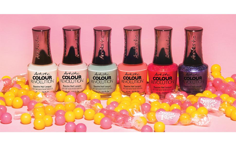 Artistic Colour Revolution Sugar Free Collection