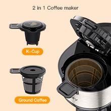 2 IN 1 Coffee Maker