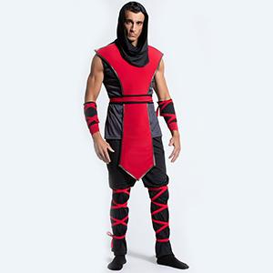 Amazon.com: Yandy Mens Sleeveless Top Lethal Ninja Assassin ...