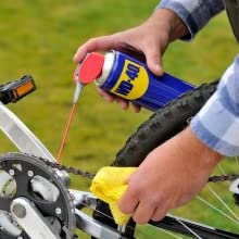 Cleans, Protects and Lubricates the Moving Parts of the Cycle- Chain