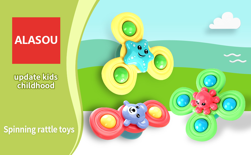 Suction Cup Spinning Top