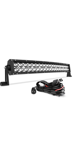 4 Row 50Inch 3000W LED Light Bar Flood Spot Work Off Road Ford Driving Lamp 52/'/'