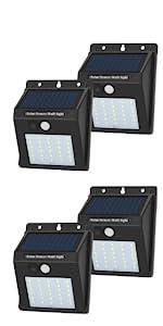 JHBOX 30 LED Solar Lights with Motion Sensor