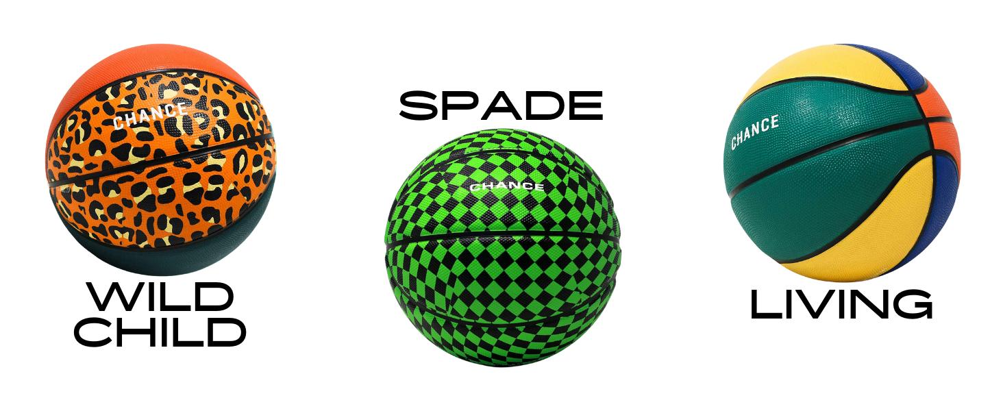 Wild Child, Spade, and Living Basketballs