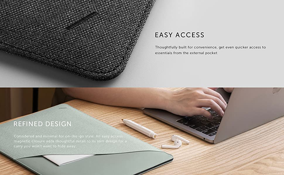 """Native Union NU Macbook Pro 13"""" 15"""" 16"""" Sleeve Protection Water Resistance waterproof full protect"""