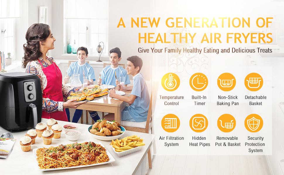 A NEW GENERATION HEALTHY AIR FRYER