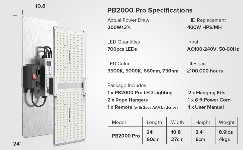 PB2000 Pro