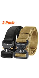 2pcs tactical belt