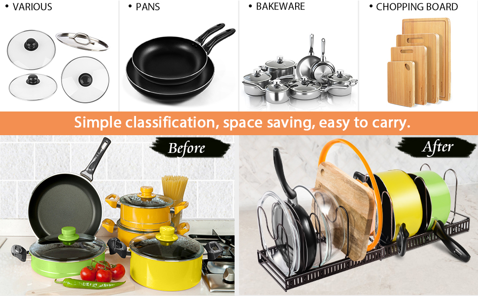 Multi-Function Telescopic Pan Rack-Masthome 2