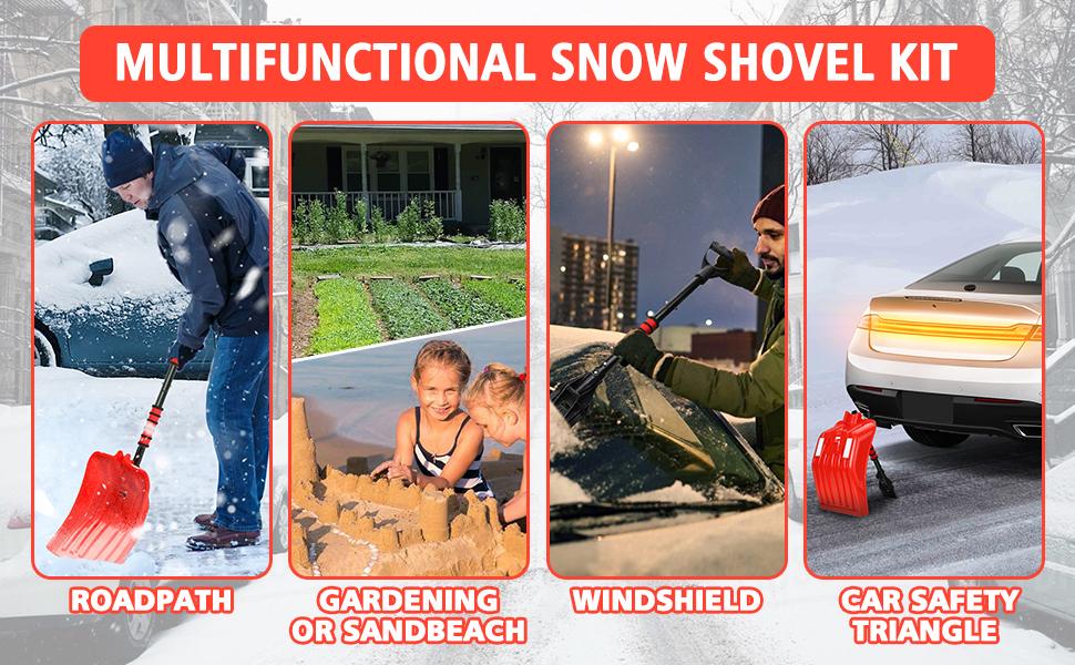 Snow Shovel Kit