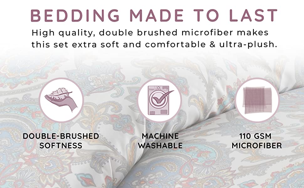 Bedding made to last