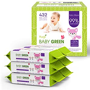 6 pack Scented wipes