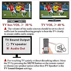 TV sound setting
