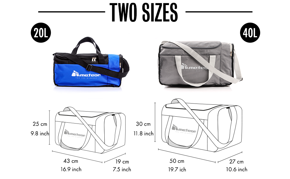 duffel fitness bag