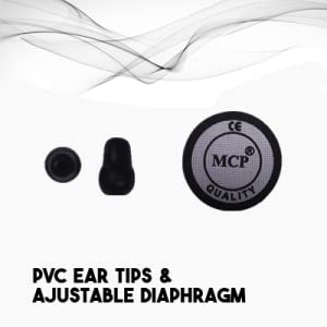 mcp stethoscope for doctors medical students matte finish dual head chest piece microtone littmann