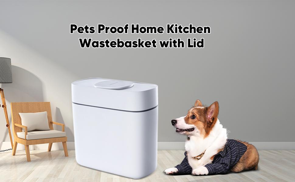 pets proof wastebasket