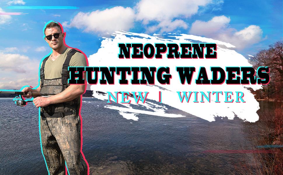 hunting & fishing waders