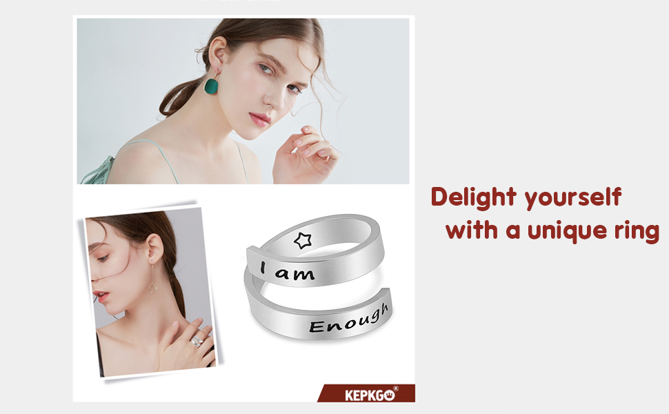 Delight yourself with a unique ring