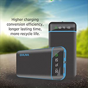 Coolnut power banks