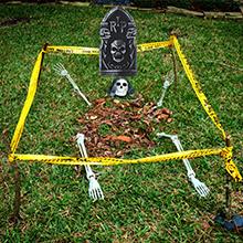 halloween yard decoration
