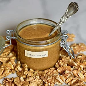 Ground Walnut Butter Spread - RAW - All Natural - Non-GMO - No Added Sugar - 100% Superfood