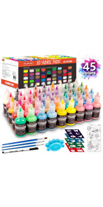 45 Colors Fabric Paint