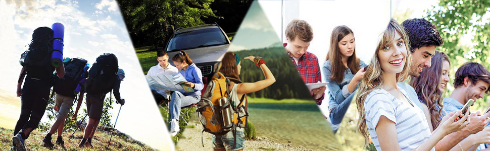 Awesome for outside activities such as camping, hiking and other emergency use.