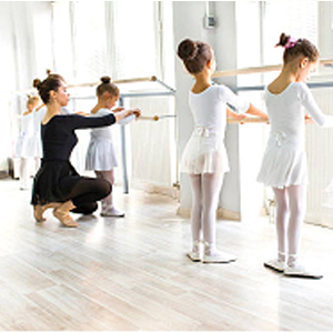 Kid ballet skirt
