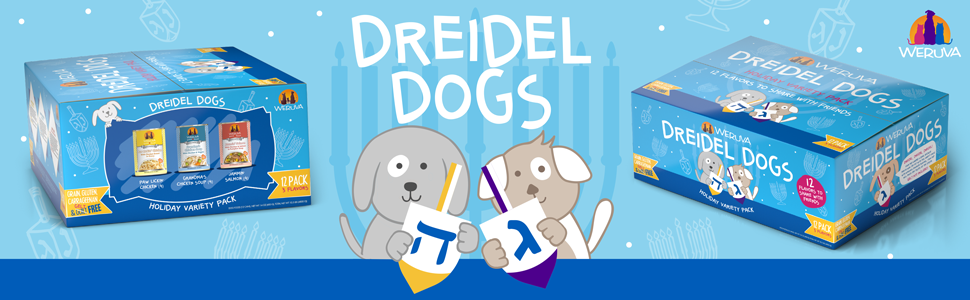 new festive holiday perfect present or gift for your dog Hanukkah
