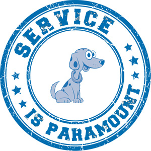 Service is paramount