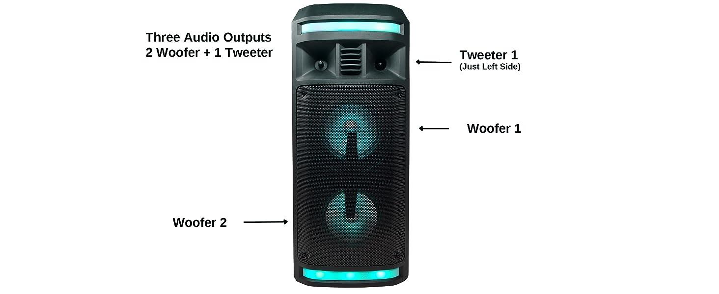 enceinte bluetooth karaoke