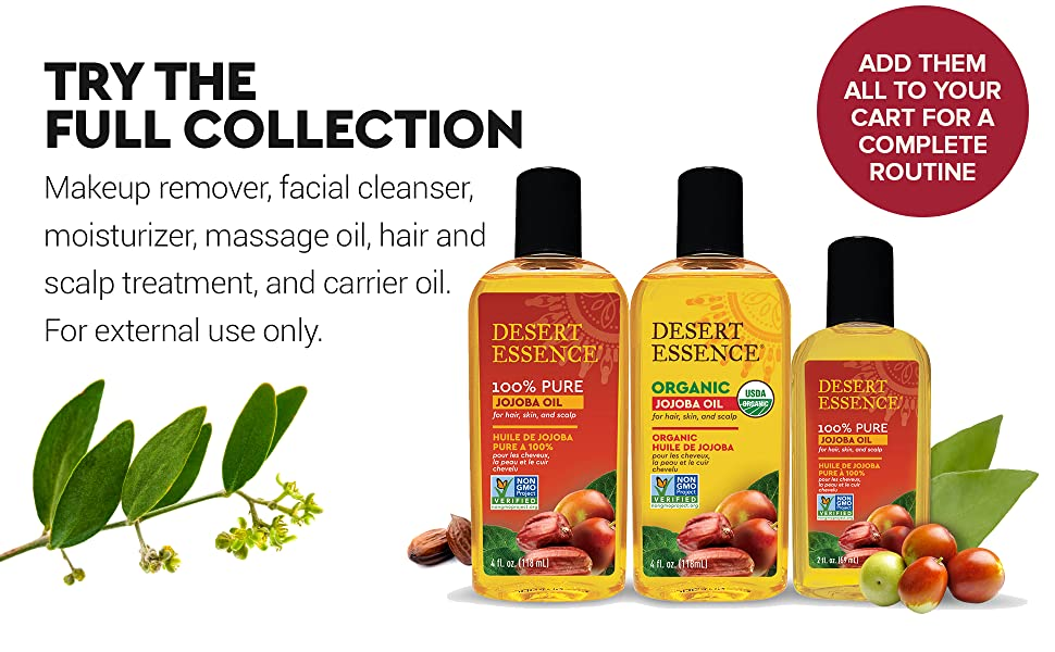 Desert Essence jojoba oil bath,Desert Essence jojoba oil collection,jojoba oil products, jojoba oil